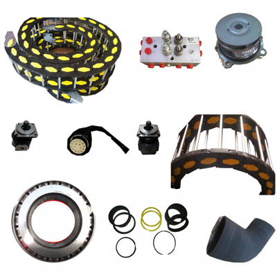 Container reachstacker Parts