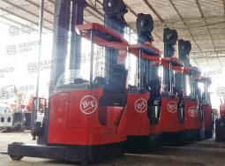 Xe nâng điện BT tải trọng 1.6 tấn tầm nâng 9m