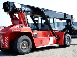 Xe nâng container – reachstacker kalmar DRF 450