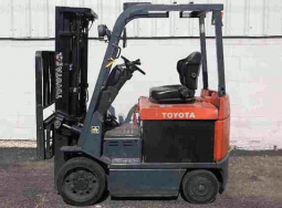 Electric Toyota Forklift 2.5 tons