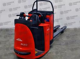 Xe nâng điện 2 tấn Pallettruck Linde N20