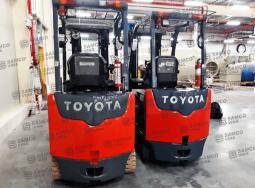 Bán xe nâng điện Toyota 2.5 tấn đã qua sử dụng