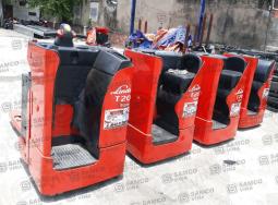 Bán hoặc cho thuê xe nâng điện Pallet truck linde 2 tấn