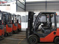 (Tiếng Việt) Lô xe Toyota nhập khẩu USA – Xe nâng điện/dầu 2,5 – 3, tấn