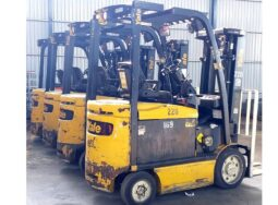(Tiếng Việt) Bán hoặc cho thuê xe nâng điện Lift truck Yale 2.5 tấn