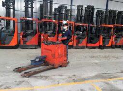 (Tiếng Việt) Xe nâng điện Pallet truck đứng lái